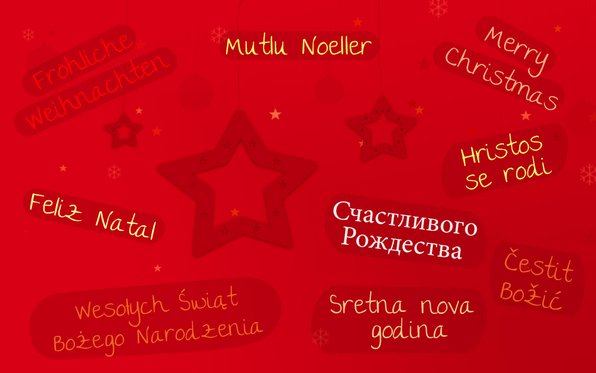 Frohe Weihnachten Und Guten Rutsch In Neues Jahr.Frohe Weihnachten Schone Feiertage Und Einen Guten Rutsch