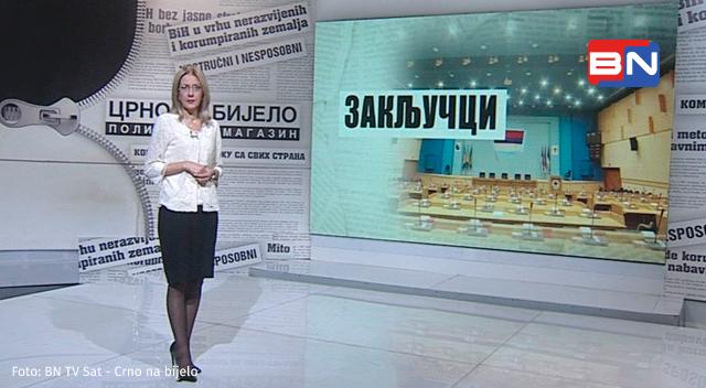 Wir empfehlen: Crno na bijelo auf BN TV Sat (Magazin, So, 20:00 Uhr)