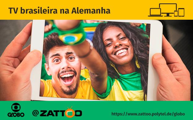 Schon gehört? Globo bei Zattoo schauen!