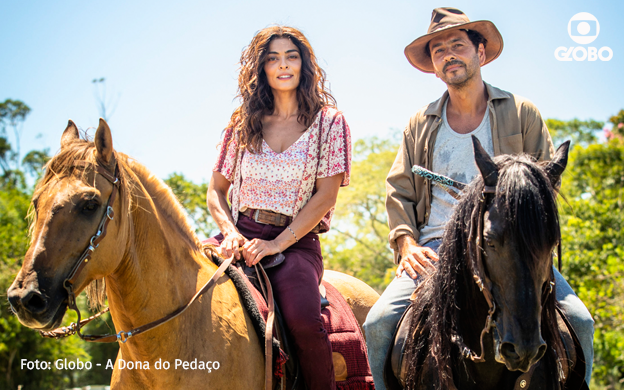 Die neue Telenvela bei Globo: A Dona do Pedaço