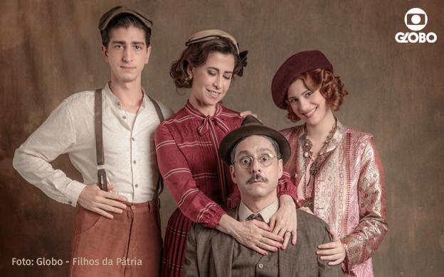 NEU: Ab 15.10. Staffel 2 von Filhos da Pátria bei Globo