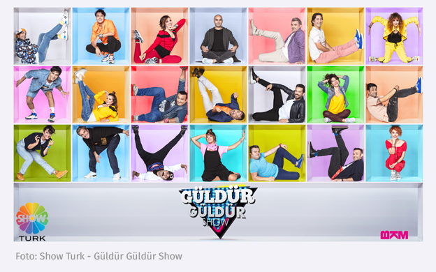 Güldür Güldür Show: Die neue Staffel bei Show Turk